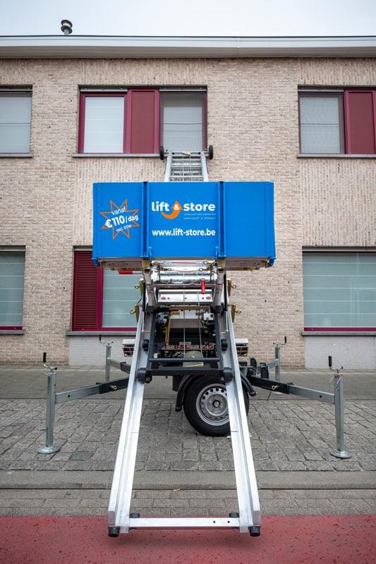 Verhuislift huren - vanaf 110 euro / dag