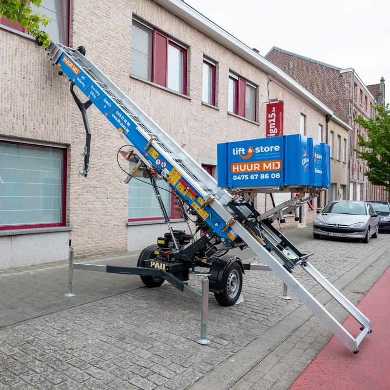 Verhuislift huren - Lift & Store
