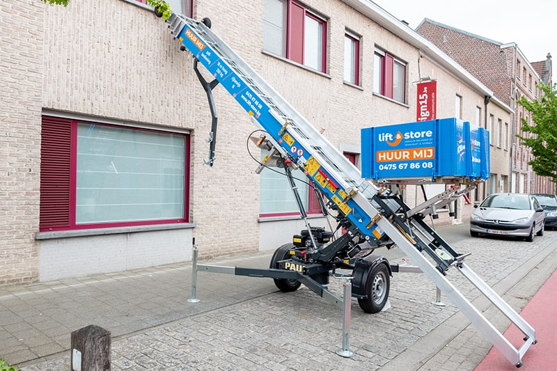 Verhuur verhuislift | Lift and store