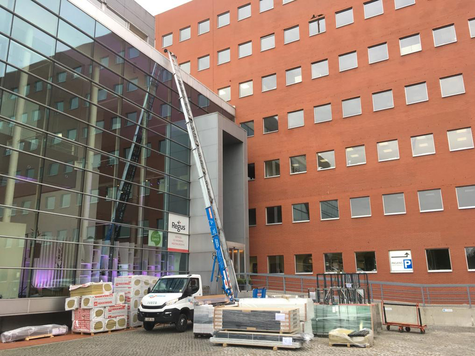 Verhuis ladderlift 31m